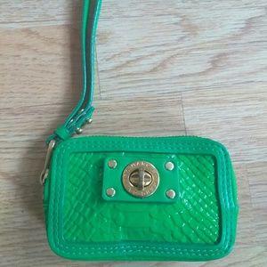 "Marc by Marc Jacobs 5"" Mini Wristlet Wallet Green"